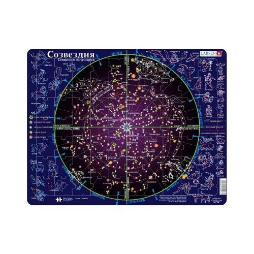 Larsen Rahmenpuzzle - Sternbilder (auf Russisch) 70 Teile Puzzle Larsen-SS2-RU