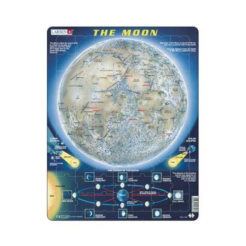 Larsen Rahmenpuzzle - The Moon (auf Englisch) 70 Teile Puzzle Larsen-SS5-GB