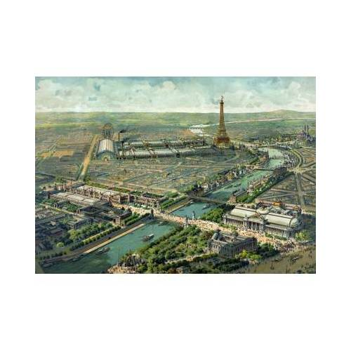 Grafika Paris, 1900 1000 Teile Puzzle Grafika-00085