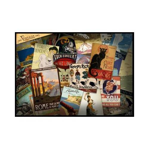 Grafika Vintage Poster 1000 Teile Puzzle Grafika-T-00041