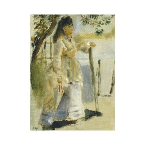 Grafika Auguste Renoir: Woman by a Fence, 1866 300 Teile Puzzle Grafika-01861