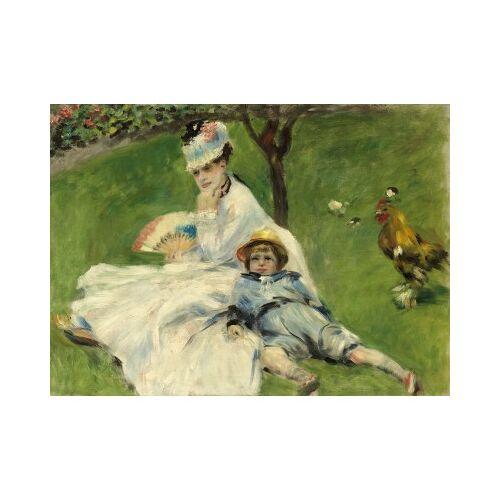 Grafika Auguste Renoir: Madame Monet and Her Son, 1874 300 Teile Puzzle Grafika-01902