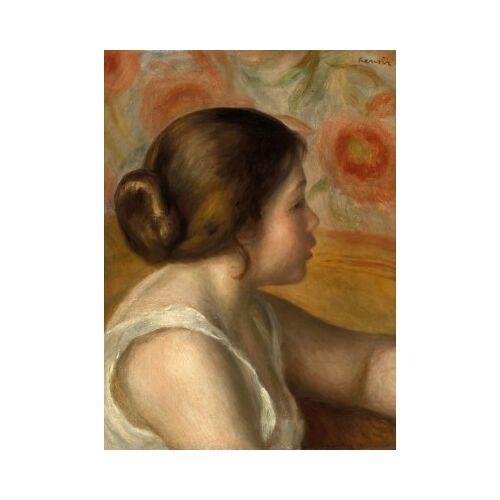 Grafika Auguste Renoir: Head of a Young Girl, 1890 300 Teile Puzzle Grafika-01905