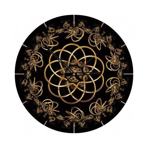 ART Puzzle Puzzle-Uhr - Tanz mit der Nacht 570 Teile Puzzle Art-Puzzle-4147