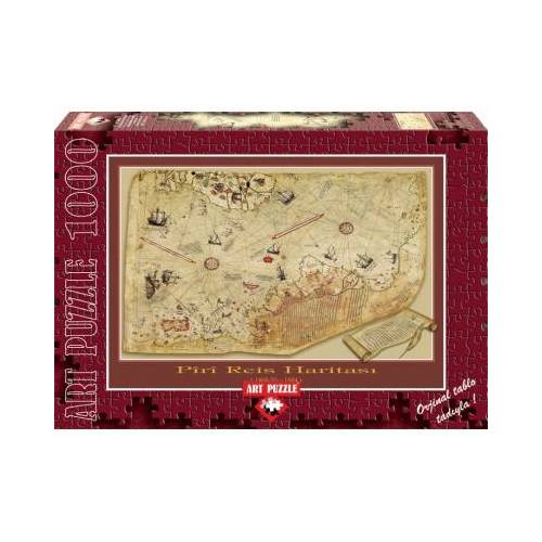 ART Puzzle The Piri Reis Map 1000 Teile Puzzle Art-Puzzle-4308