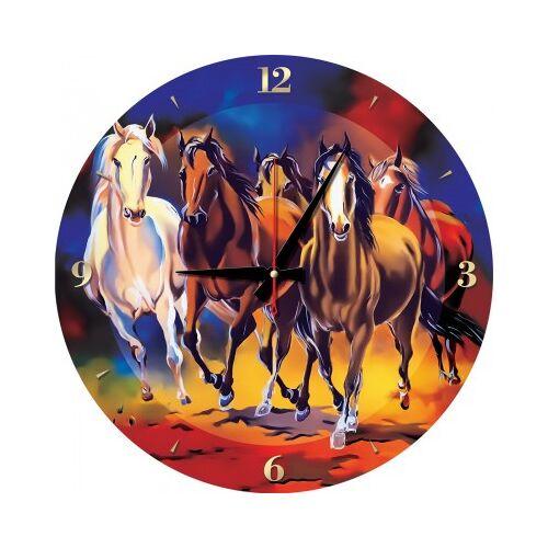 ART Puzzle Puzzle-Uhr - Pferde 570 Teile Puzzle Art-Puzzle-5004