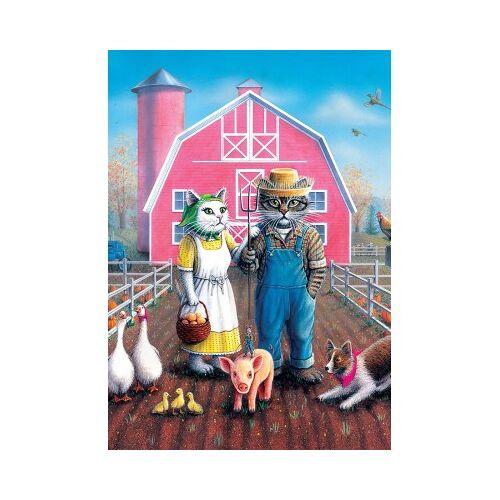 ART Puzzle Cat Farm 260 Teile Puzzle Art-Puzzle-5028