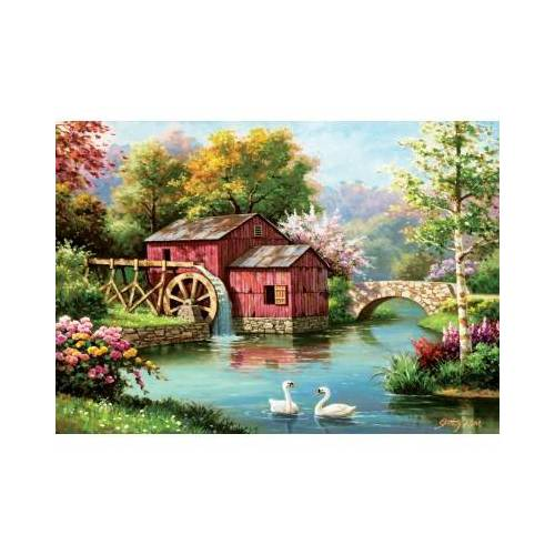 ART Puzzle Red Old Mill 1000 Teile Puzzle Art-Puzzle-5188