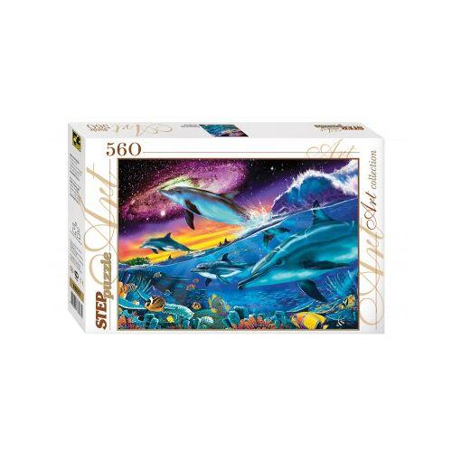 Step Puzzle Unterwasserwelt 560 Teile Puzzle Step-Puzzle-78077