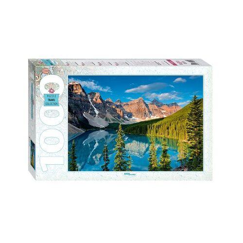 Step Puzzle Moraine Lake, Kanada 1000 Teile Puzzle Step-Puzzle-79099