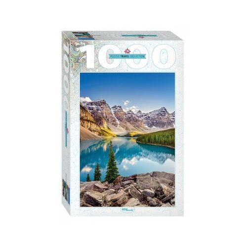 Step Puzzle Moraine Lake, Kanada 1000 Teile Puzzle Step-Puzzle-79120