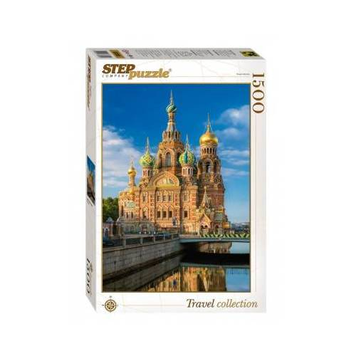 Step Puzzle Auferstehungskirche 1500 Teile Puzzle Step-Puzzle-83055