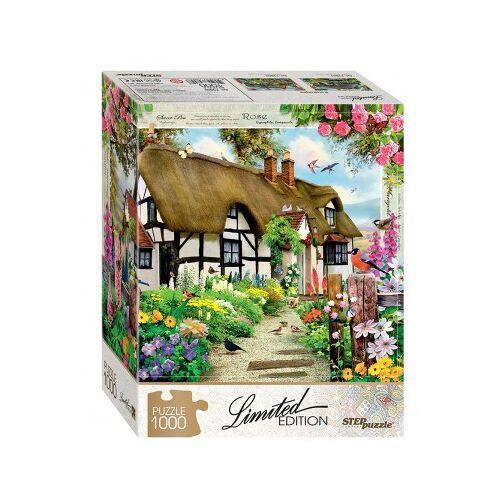 Step Puzzle English Cottage 1000 Teile Puzzle Step-Puzzle-79800