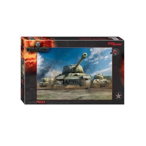 Step Puzzle World of Tanks 560 Teile Puzzle Step-Puzzle-97027