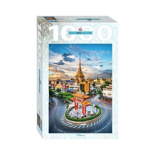 Step Puzzle Chinatown in Bangkok, Thailand 1000 Teile Puzzle Step-Puzzle-79148