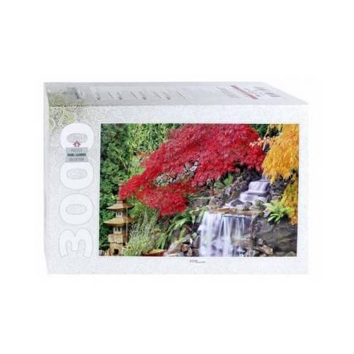 Step Puzzle Waterfall in the Japanese Garden 3000 Teile Puzzle Step-Puzzle-85019