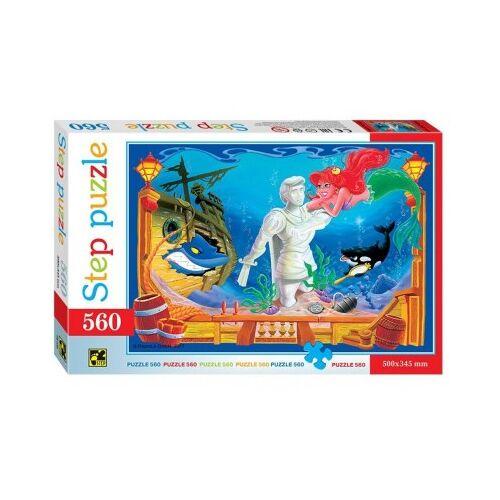 Step Puzzle Die kleine Meerjungfrau 560 Teile Puzzle Step-Puzzle-78100