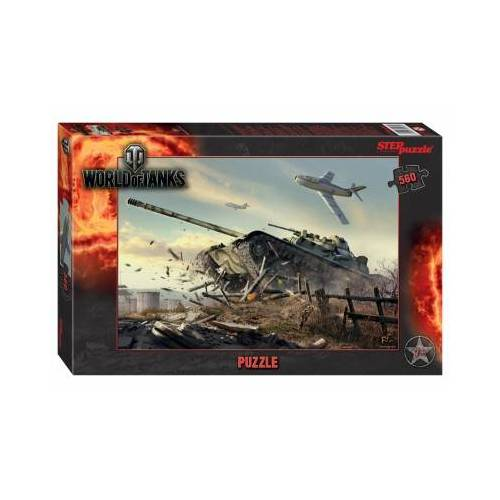 Step Puzzle World of Tanks 560 Teile Puzzle Step-Puzzle-97072