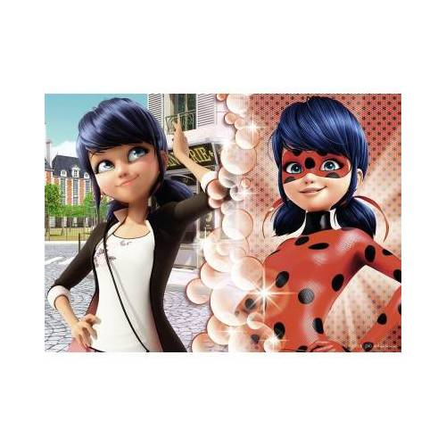 Nathan Miraculous - Lady Bug 45 Teile Puzzle Nathan-86470