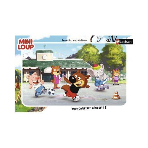 Nathan Rahmenpuzzle - Mini-Loup 15 Teile Puzzle Nathan-86128