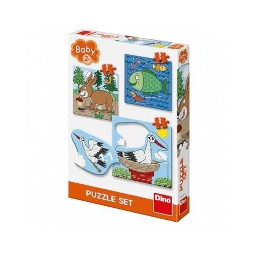 Dino Baby Puzzles 3 Teile Puzzle Dino-32511