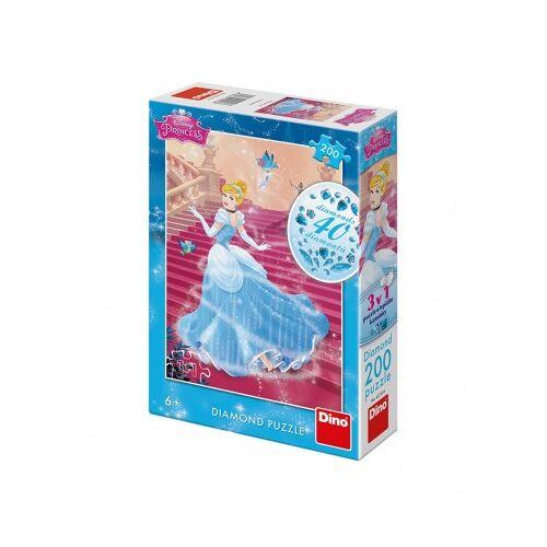 Dino Diamond Puzzle - Disney Princess 200 Teile Puzzle Dino-42218