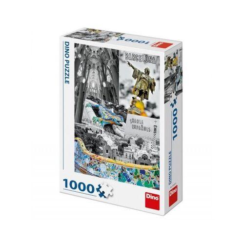 Dino Barcelona, Spanien 1000 Teile Puzzle Dino-53267