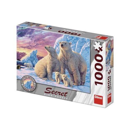 Dino Secret Puzzle - Eisbären 1000 Teile Puzzle Dino-53278