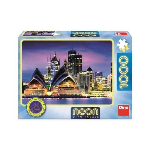 Dino Neon Puzzle - Sydney Opera 1000 Teile Puzzle Dino-54130