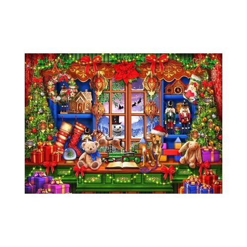 Bluebird Puzzle Ye Old Christmas Shoppe 2000 Teile Puzzle Bluebird-Puzzle-70184