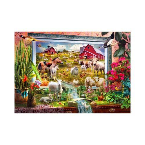 Bluebird Puzzle Magic Farm Painting 1000 Teile Puzzle Bluebird-Puzzle-70029