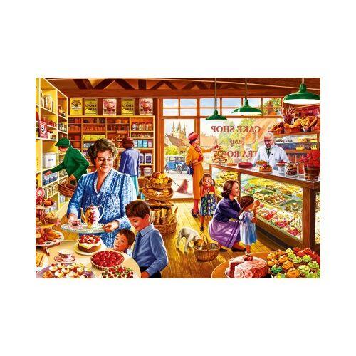 Bluebird Puzzle Nostalgic Cake shop 1000 Teile Puzzle Bluebird-Puzzle-70326-P