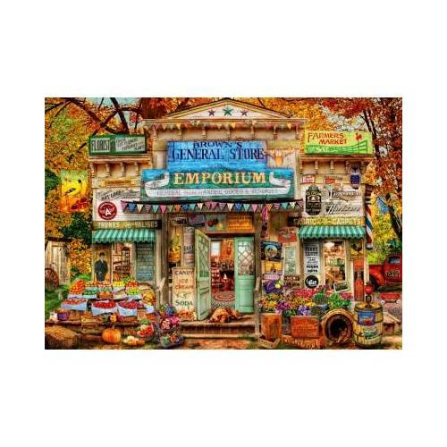 Bluebird Puzzle The General Store 1000 Teile Puzzle Bluebird-Puzzle-70332-P