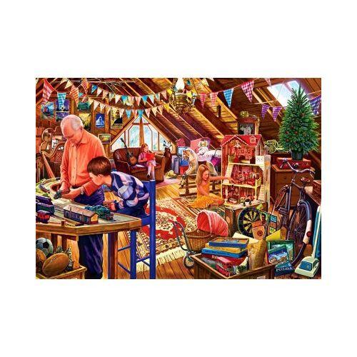Bluebird Puzzle Attic Playtime 1500 Teile Puzzle Bluebird-Puzzle-70433