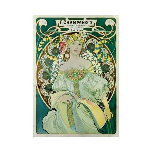 Bluebird Puzzle Mucha - Daydream, 1897 1000 Teile Puzzle Art-by-Bluebird-Puzzle-60033