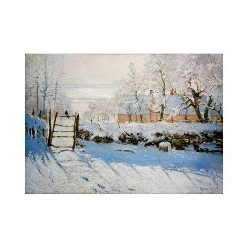 Bluebird Puzzle Claude Monet - The Magpie, 1869 1000 Teile Puzzle Art-by-Bluebird-Puzzle-60041