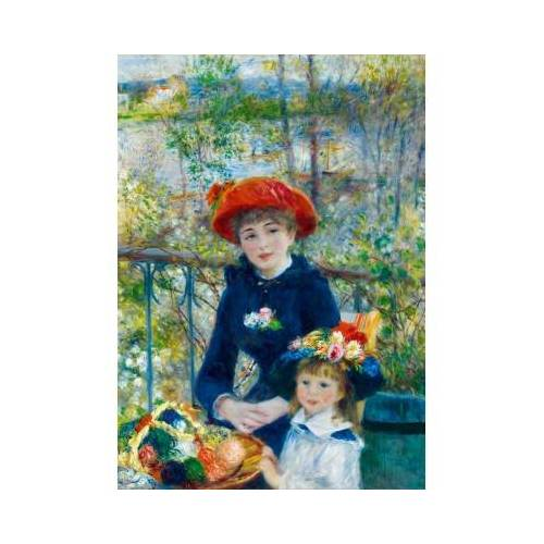 Bluebird Puzzle Renoir - Two Sisters (On the Terrace), 1881 1000 Teile Puzzle Art-by-Bluebird-Puzzle-60050