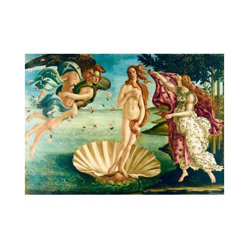 Bluebird Puzzle Botticelli - The birth of Venus, 1485 1000 Teile Puzzle Art-by-Bluebird-Puzzle-60055