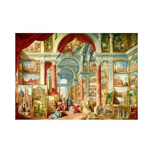 Bluebird Puzzle Panini - Picture Gallery with Views of Modern Rome, 1757 1000 Teile Puzzle Art-by-Bluebird-Puzzle-60075
