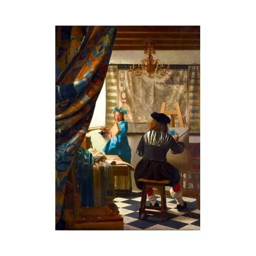 Bluebird Puzzle Johannes Vermeer - Art of Painting, 1668 1000 Teile Puzzle Art-by-Bluebird-Puzzle-60083