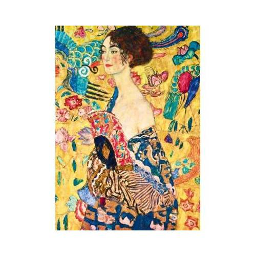 Bluebird Puzzle Gustave Klimt - Lady with Fan, 1918 1000 Teile Puzzle Art-by-Bluebird-Puzzle-60095