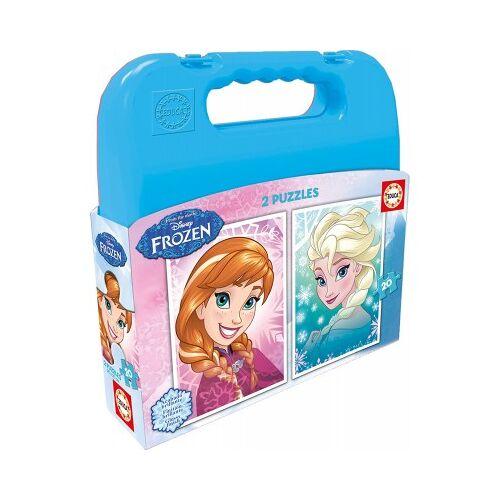 Educa 2 Puzzles - Frozen 20 Teile Puzzle Educa-16511