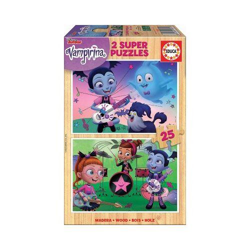 Educa Holzpuzzle - Disney - Vampirina 25 Teile Puzzle Educa-18081