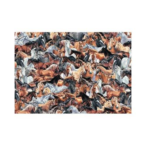 Otter House Puzzle Impossible Puzzle - Horses 500 Teile Puzzle Otter-House-Puzzle-72928