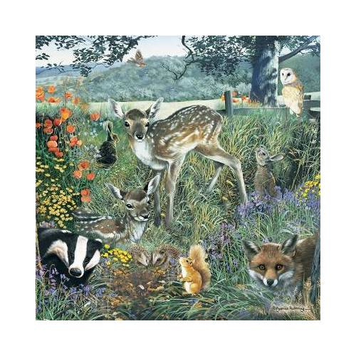 Otter House Puzzle Woodland Friends 1000 Teile Puzzle Otter-House-Puzzle-73568