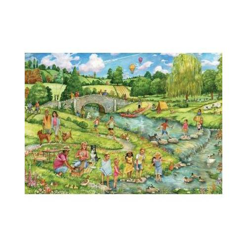 Otter House Puzzle The Great Outdoors 1000 Teile Puzzle Otter-House-Puzzle-74745
