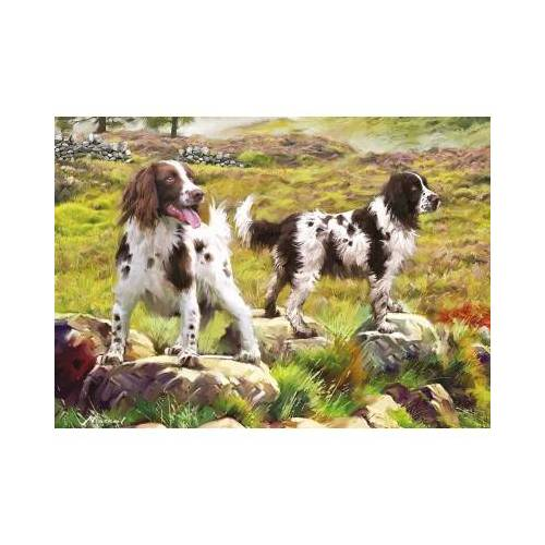Otter House Puzzle Spaniel on Moor 1000 Teile Puzzle Otter-House-Puzzle-75804