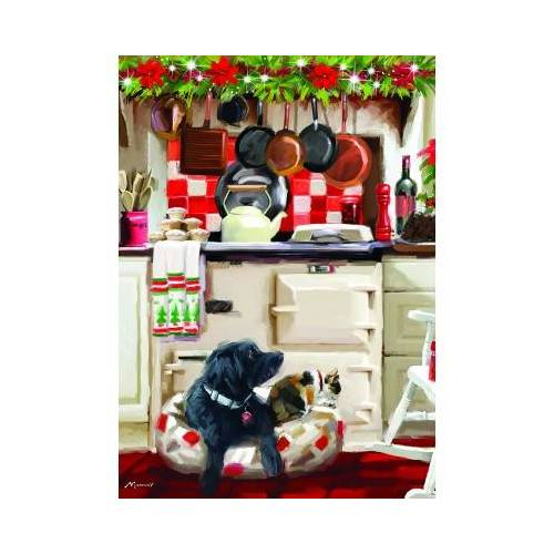 Otter House Puzzle Christmas Kitchen 1000 Teile Puzzle Otter-House-Puzzle-75802