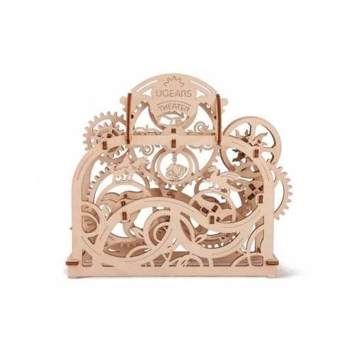 Ugears 3D Holzpuzzle - Theater 70 Teile Puzzle Ugears-12017