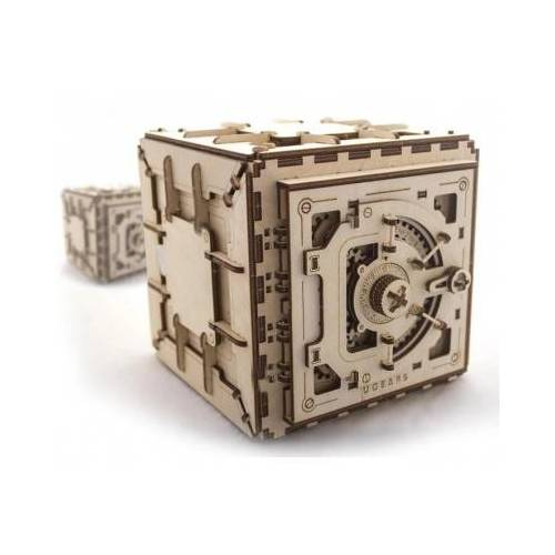 Ugears 3D Holzpuzzle - Safe 179 Teile Puzzle Ugears-12022